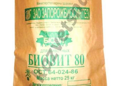 Биовит-80 (кг) комплексная добавка (антибиотики + аминокислоты)