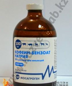 Кофеин-бензоат натрия - 100 мл раствор для инъекция