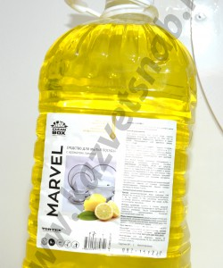 Средство для мытья посуды Marvel (Марвел) 5 л
