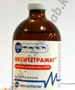 Окситетрамаг 10% раствор для инъекций 100 мл