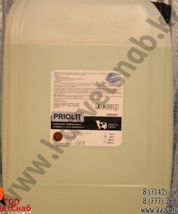 Priolit средство для обработки вымени до доения на основе хлоргексидина
