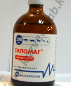 Тиломаг 20% раствор для инъекций