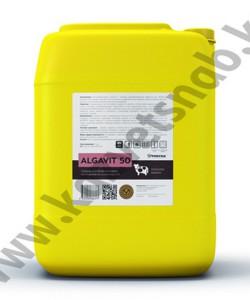 Algavit 50 (Алгавит 50) Средство для обработки вымени после доения на основе йода 0,5% (20 кг)