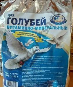 Премикс для голубей - предотвращение кормовых нарушений 500 г
