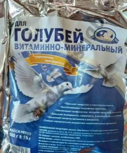 Премикс для голубей - укрепление иммунитета 500 г