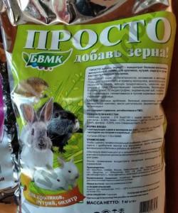"""Концентрат белково-витаминно-минеральный для грызунов """"ПРОСТО добавь зерна"""" 1 кг"""